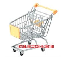 Xe đẩy siêu thị dạng lưới KS-GSM-004
