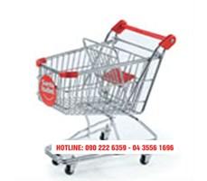 Xe đẩy siêu thị dạng lưới KS-GSM-001