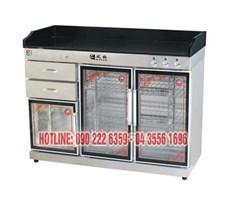 Tủ sấy bát 3 cánh kính (380Lít) KS-FPB-1200