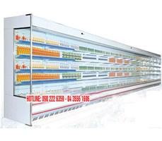 Tủ mát siêu thị 5 tầng không hạn chế chiều dài