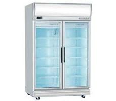 Tủ đông/mát 2 cánh kính 2D/DCF-S