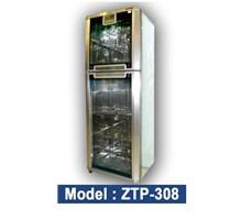 Tủ sấy bát Komasu ZTP308 -12 kính hoa/gương