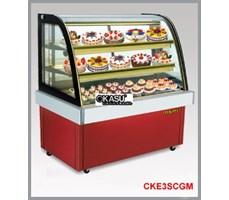 Tủ trưng bày bánh kem kính cong OKASU OKA-CKE3SCGM