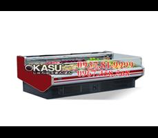 Tủ mát trưng bày siêu thị OKASU- 09XG-2.5M