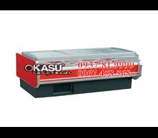 Tủ mát trưng bày siêu thị OKASU-09E6-A-2.5M