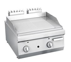 Bếp chiên nửa phẳng nửa nhám dùng gas line 600 ATA K6GFR10TT