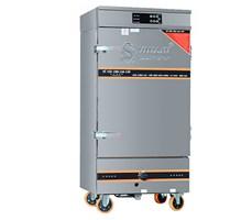 Tủ Cơm 10 Khay Kết Hợp Ga - Điện Điều Khiển Cảm Ứng OKASU VNK10K-GDB