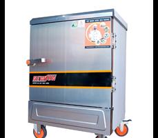 Tủ hấp cơm 6 khay dùng điện nhập khẩu (18kg gạo/lần) KN-THTQĐ6K