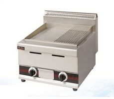 Bếp chiên nửa phẳng, nửa nhám dùng gas WYB-754