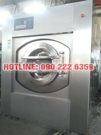 Máy giặt, vắt công nghiệp tự động 50 Kg
