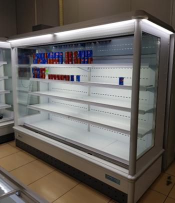 Tủ trưng bày siêu thị OKASU NW-77-SCM