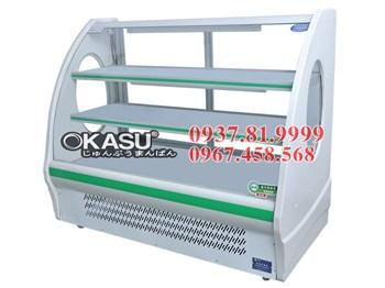 Tủ trưng bày và bảo quản thực phẩm Okasu OKS-KX-1.5WZC