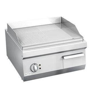 Bếp chiên nửa phẳng nửa nhám line 600 ATA K6EFR10TT