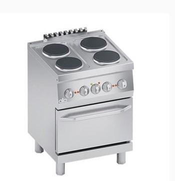 Bếp âu điện 4 họng có lò nướng Line 600 ATA K6ECU10FF