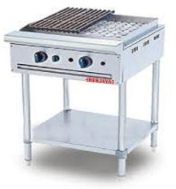 Bếp nướng than đá nhân tạo cho quán ăn Berjaya CRB2BFS