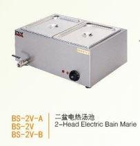 Bếp đun điện cách thủy 2 đầu Wailaan BS-2V-B