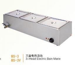 Bếp đun điện cách thủy 3 đầu Wailaan BS-3V