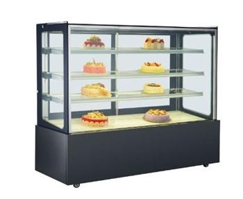 Tủ trưng bày bánh kem 3 kệ OKASU K760V