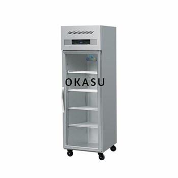 Tủ mát 1 cánh kính OKASU OKS-102B