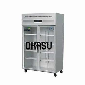 Tủ mát 2 cánh kính OKASU OKS-102F