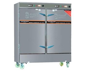 Tủ Nấu Cơm Điện 24 Khay Hẹn Giờ Aptomat, Đồng Hồ Báo Nhiệt Độ OKASU VI-D24APB