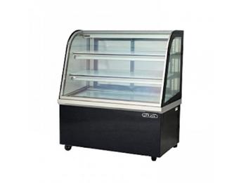 Tủ trưng bày bánh kem kính cong Okasu CCS18SB13-3FB