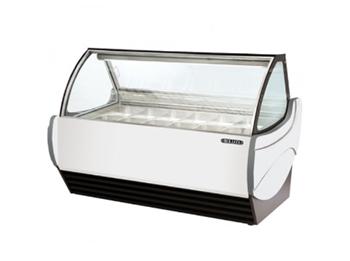 Tủ trưng bày kem Okasu GS08-W