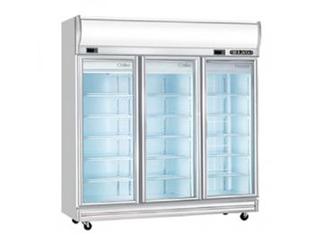 Tủ đông mát 3 cánh kính Okasu 3D / D2C1F-MG