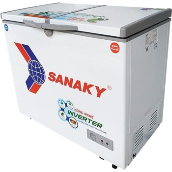 TỦ ĐÔNG MÁT SANAKY INVERTER 230 LÍT VH-2899W3