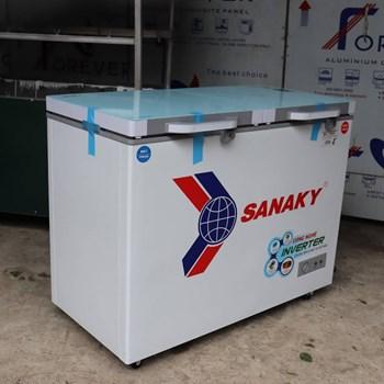 TỦ ĐÔNG MÁT SANAKY INVERTER 200 LÍT VH-2599W4KD