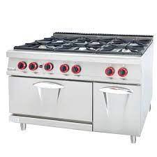 Bếp âu 6 họng có lò nướng GH-987A