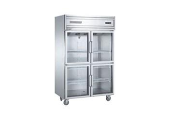 Tủ mát 4 cánh kính Kolner KG1.0L4W (Làm lạnh quạt gió)