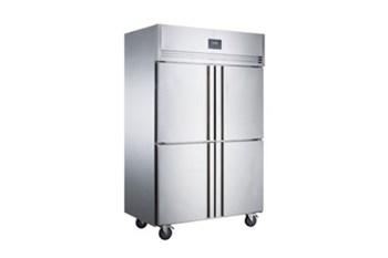 Tủ đông mát 4 cánh Inox Kolner NKCD1.0L4 (Lạnh trực tiếp)