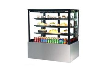 Tủ trưng bày bánh kem kính vuông 1500mm Kolner SL850V