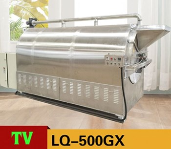 Máy rang hạt dùng gas LQ-500GX
