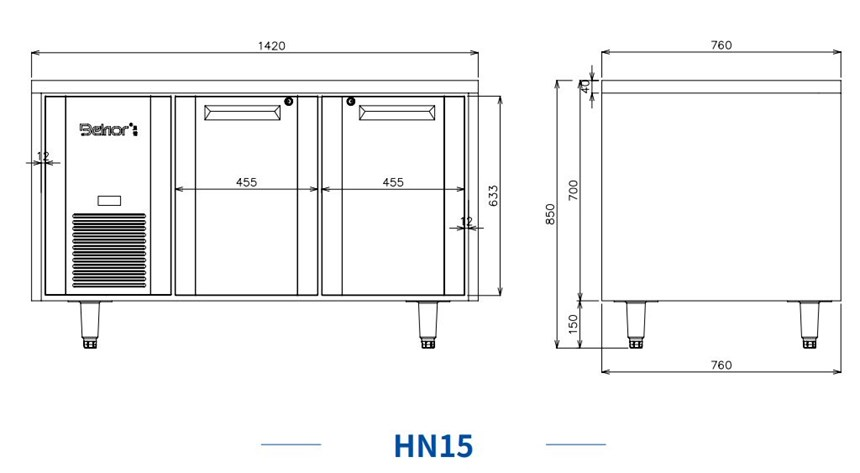 ban mat 2 canh inox kolner hn15 (lam lanh quat gio) hinh 0