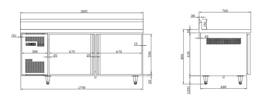 ban mat 2 canh kolner tc0.4l2bw (lanh quat gio, co tua lung) hinh 0