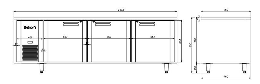 ban mat 3 canh inox kolner hn25 (lam lanh quat gio) hinh 0