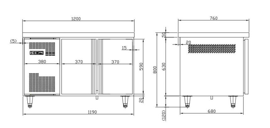 ban mat 2 canh kolner c0.2l2w (lam lanh quat gio) hinh 0